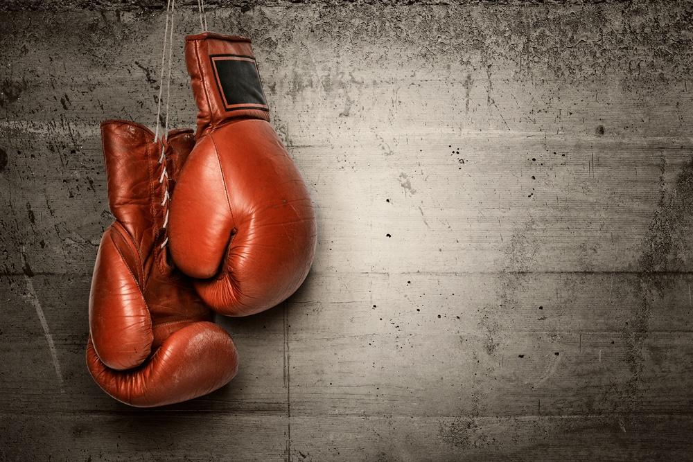 Gants de boxe amateur