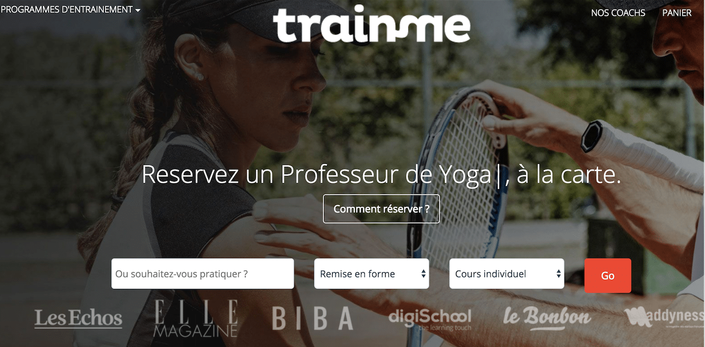 Le Coaching sportif à Paris Actualité Coaching Sportif TrainMe