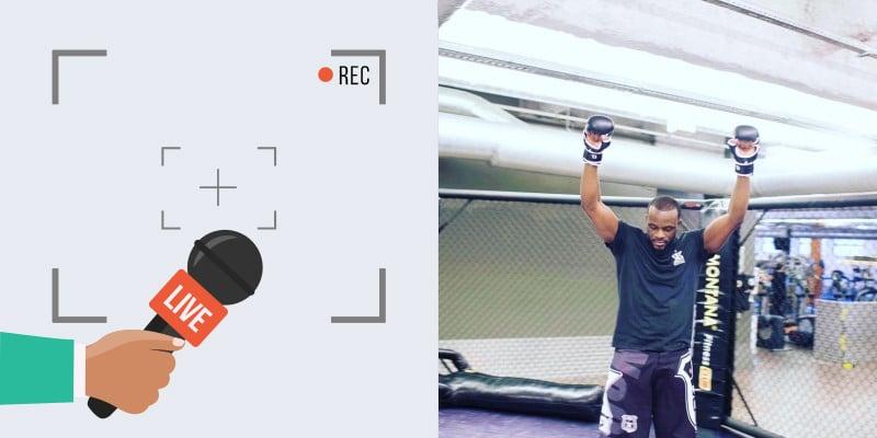 Interview de Malick coach de MMA, Boxe et Remise en forme