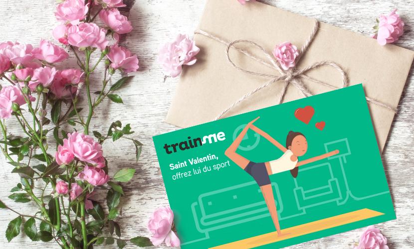 Offrir du yoga à la saint valentin