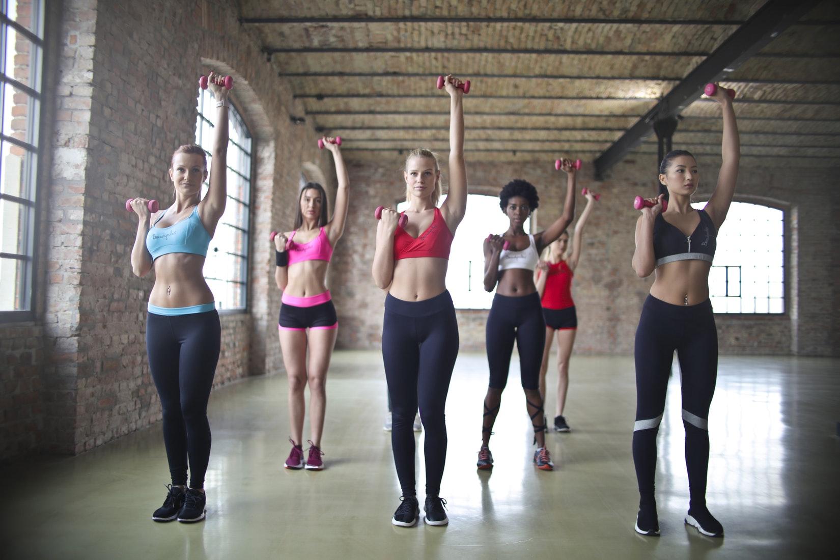 Femmes sportive