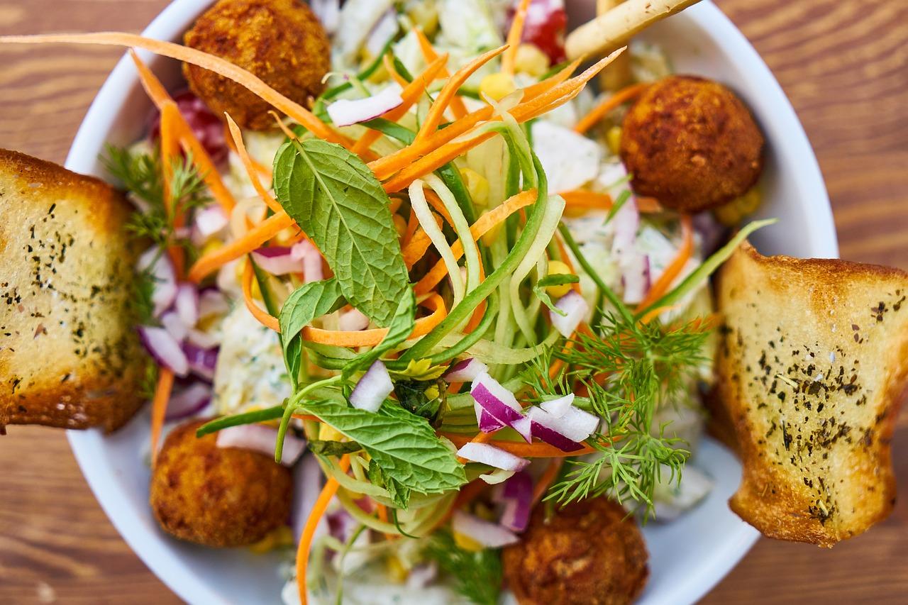 Salade pour un Vegan