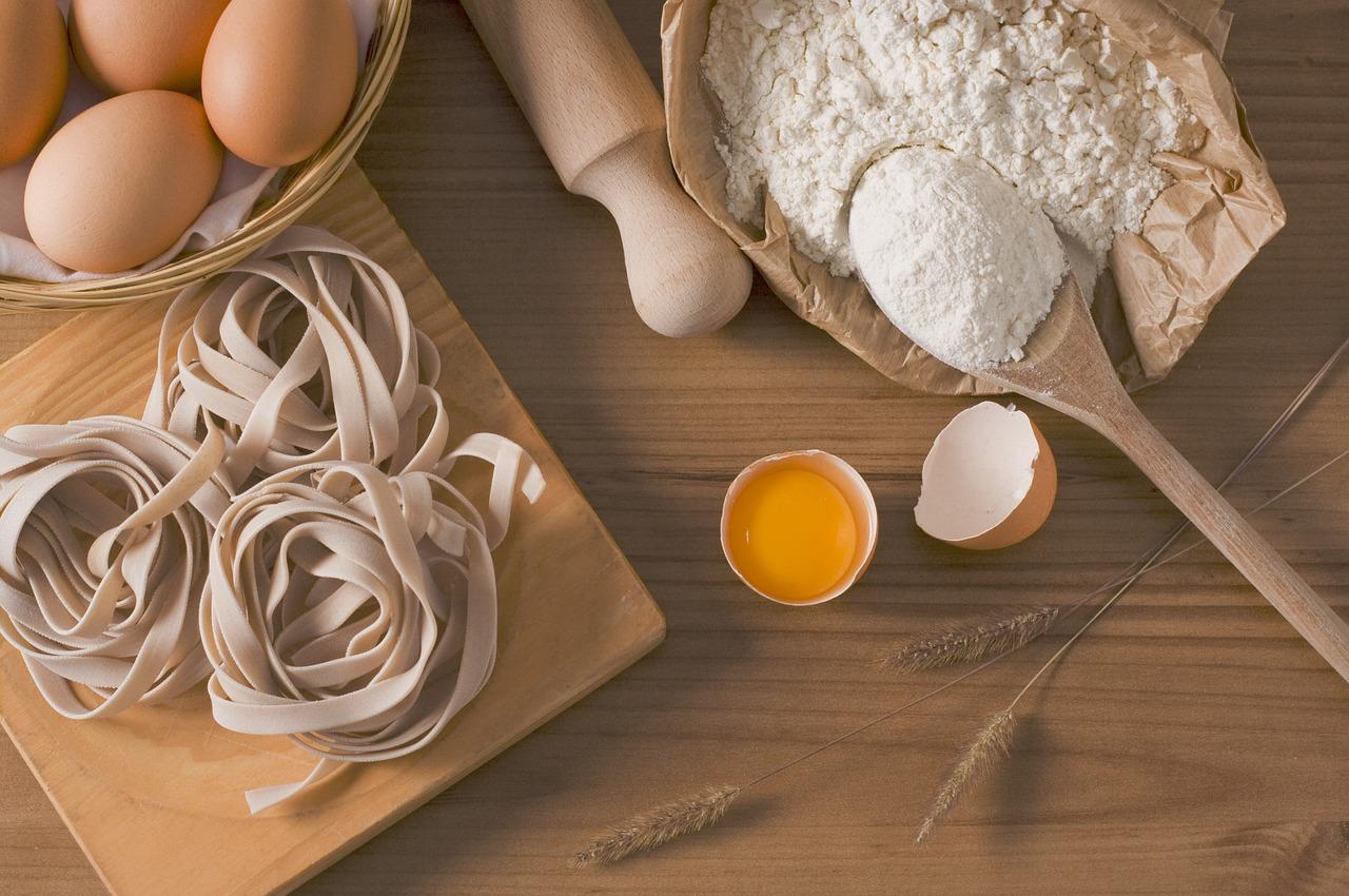 Préparation de pâtes