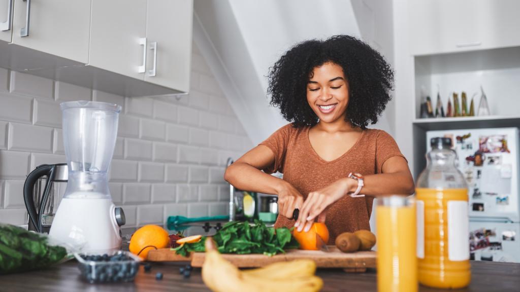 Avoir une bonne alimentation garantit un sentiment de bien-être